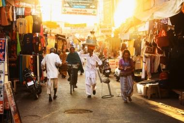 Triangolo d'oro con Varanasi